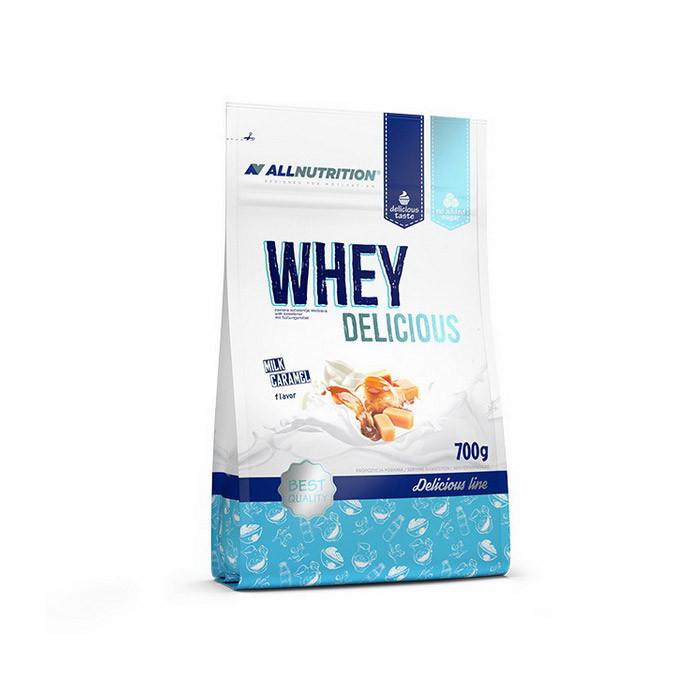 Сироватковий протеїн концентрат All Nutrition Whey Delicious (700 г) алл нутришн вей vanilla
