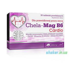 Магній Б6 Olimp Chela-Mag B6 Cardio (30 таб) олімп