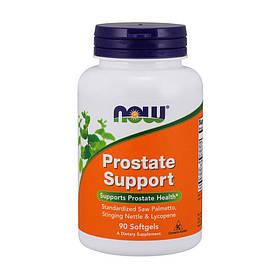 Вітаміни для чоловіків Now Foods Foods Prostate Support (90 капс) для простати нау фудс