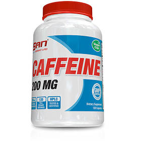 Кофеїн SAN Caffeine 200 mg 120 капсул (SAN1171)