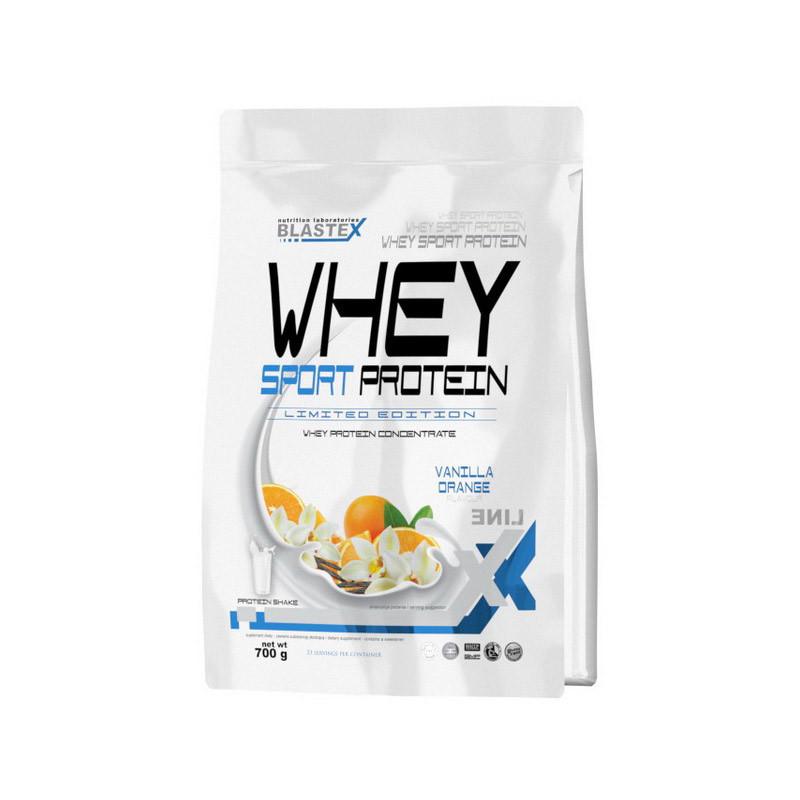 Сироватковий протеїн концентрат Blastex Whey Sport Protein (700 г) бластекс спорт chocolate caramel nougat