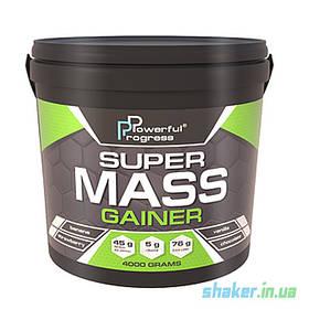 Гейнер для набора массы Powerful Progress Super Mass Gainer (4 кг) гейнер поверфул прогресс vanilla