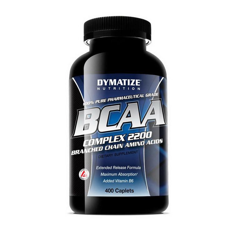 БЦАА Dymatize BCAA Complex 2200 (400 таблеток) диматайз комплекс