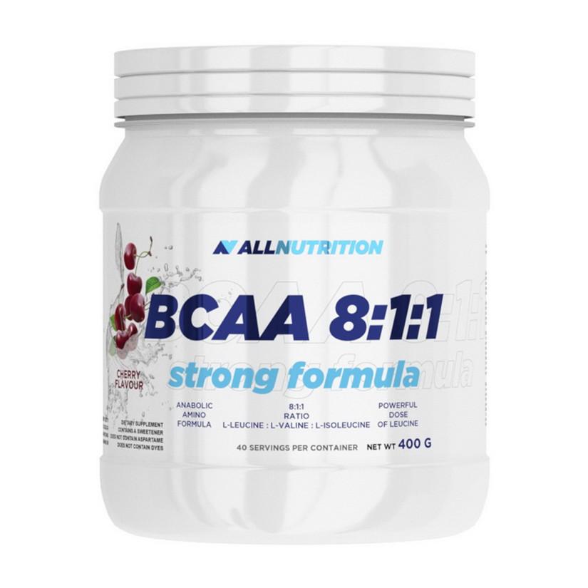 БЦАА AllNutrition BCAA 8:1:1 Strong Formula (400 г) алл нутришн lemon