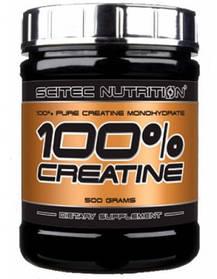 Креатин Scitec Nutrition 100% Creatine Monohydrate (500 г) скайтек нутришн unflavored