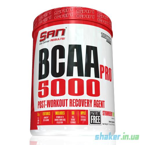 БЦАА SAN  BCAA Pro 5000 (345 г) сан  strawberry kiw