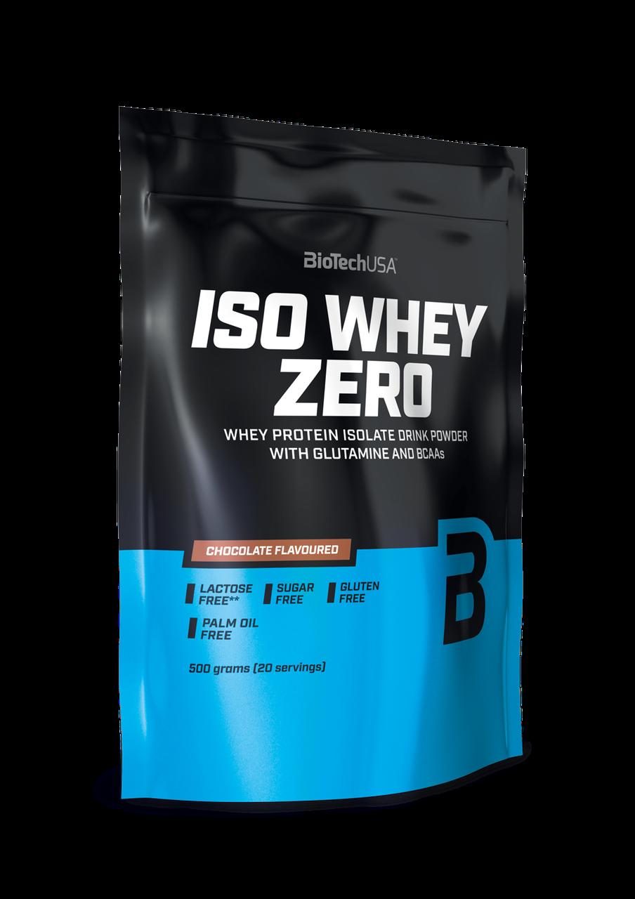 Сывороточный протеин изолят BioTech Iso Whey Zero (500 г) биотеч изо вей зеро lemon cheesecake
