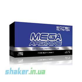 Л-Аргінін Scitec Nutrition Mega Arginine (120 капсул) скайтек нутришн мега