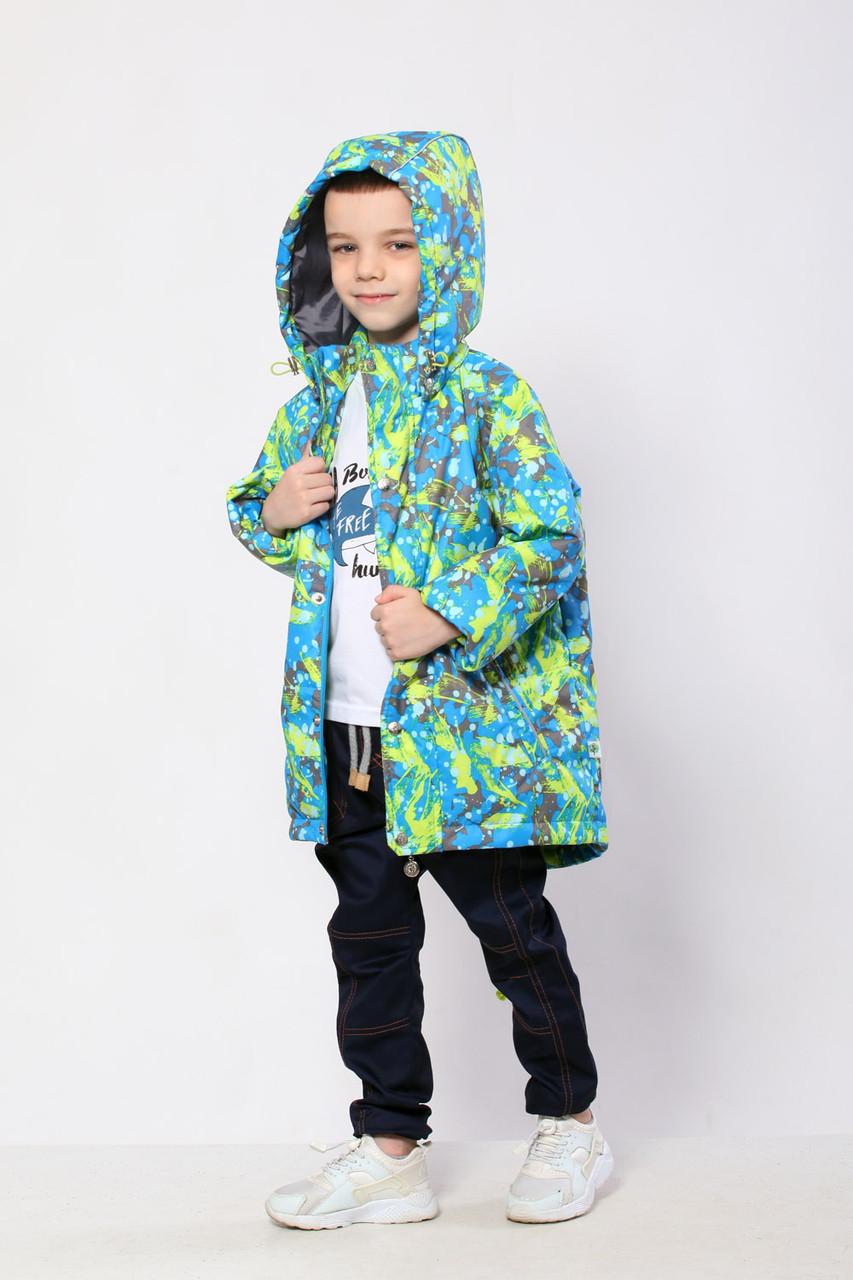 Куртка демисезонная для мальчика 116