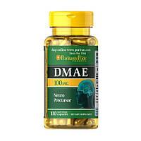 Диметиламиноэтанол Puritan's Pride DMAE 100 mg 100 капсул (PUR1273)