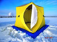 Палатка призма CUBE зимняя для зимней рыбалки на алюминиевом каркасе КУБ