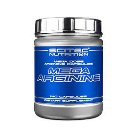 Л-Аргінін Scitec Nutrition Mega Arginine (140 капсул) скайтек нутришн мега