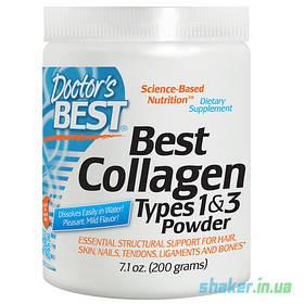 Колаген Doctor's s BEST Collagen Powder (200 г) unflavored доктор бест
