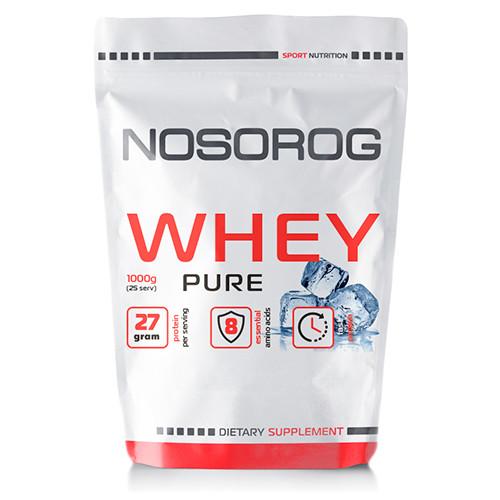 Сывороточный протеин концентрат Nosorog Whey (1 кг) носорог вей без добавок