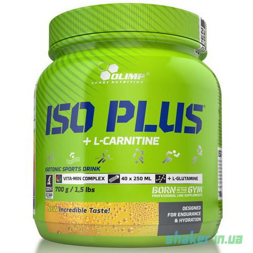 Изотоник Olimp Iso Plus + L-Carnitine (700 г) олимп lemon