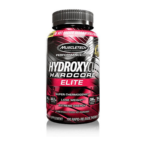 Жіросжігателя MuscleTech Hydroxycut Hardcore Elite (100 капс) мускултеч