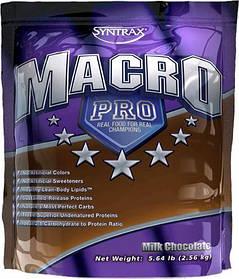 Гейнер для набора массы Syntrax Macro Pro (2.53 кг) синтракс макро про strawberry