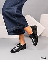 Женские Стильные туфли со шнуровкой. Элитная коллекция!