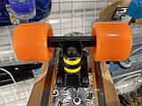 Пенни борд FISH деревянный, бамбуковый, Скейт Penny Board с широкими колесами, пенниборд детский, фото 7