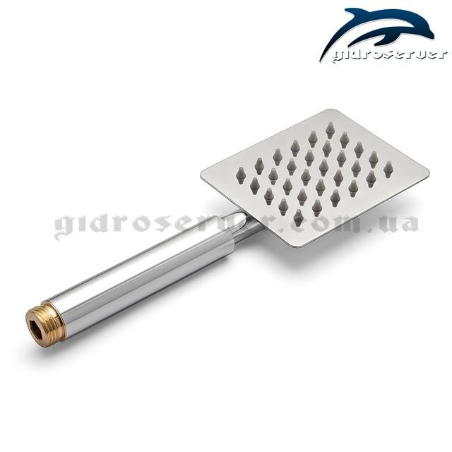 Лейка ручного душа для душевой системы скрытого монтажа SSD-01 выполнена из пищевой нержавеющей стали.