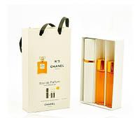 Женский мини парфюм Chanel № 5 (Шанель № 5) 3*15 мл