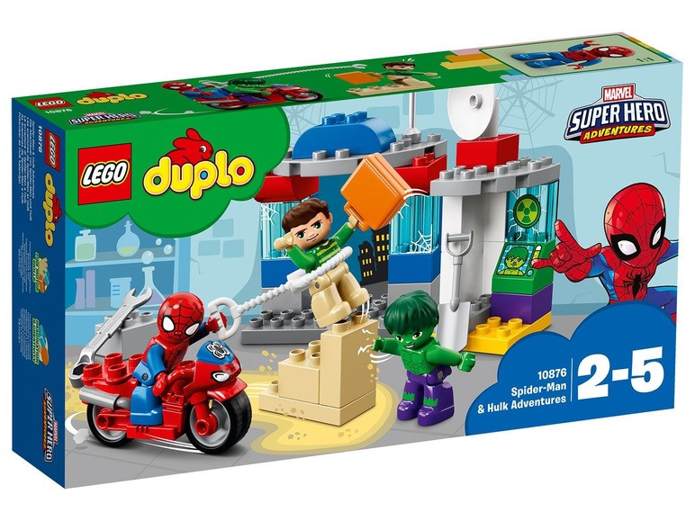 Купить Lego 10876 приключения человека-паука и халка Lego