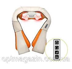 Роликовый массажер для спины и шеи Massager of neck kneading, фото 2
