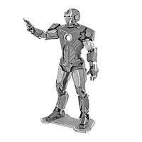 Металлический 3D-пазл (конструктор) Железный Человек, фото 1