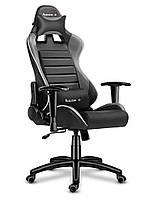 Игровое кресло компьтерное HUZARO FORCE 6.0 GREY Европейский Бренд