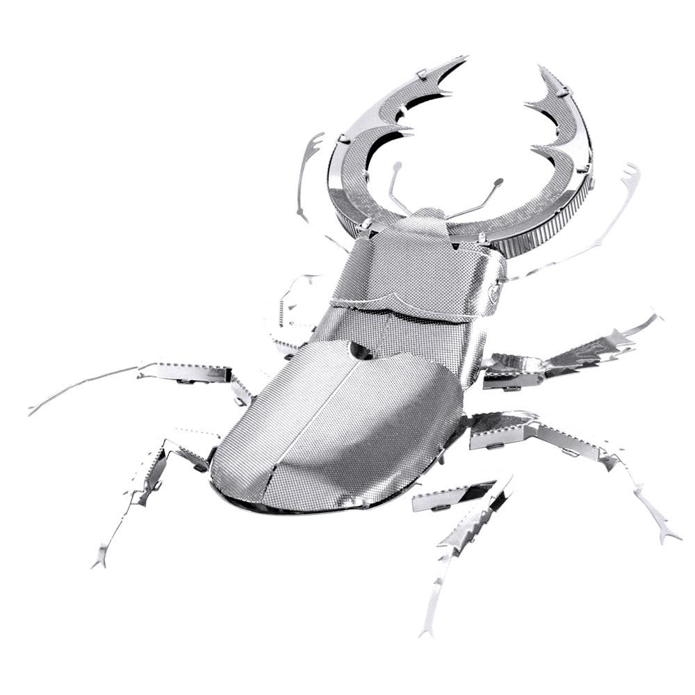 Металлический 3D-пазл (конструктор) Жук-олень