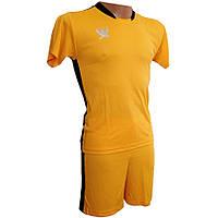 Футбольная форма детская Swift PRIORITET (желто-черный) 158 см, фото 1