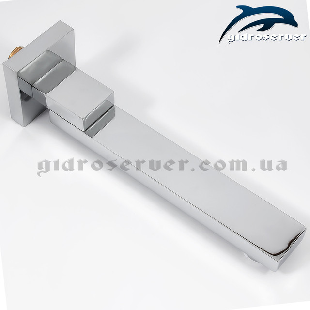 Вбудовується в стіну вилив для душової системи прихованого монтажу SSD-05 з робочою довжиною 23 див.