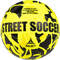 Мяч футбольный SELECT Street Soccer (102) желтый, размер 4,5