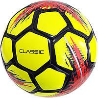Мяч футбольный SELECT Classic (014) желт/черн размер 4