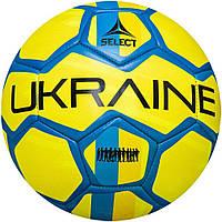 Мяч футбольный SELECT FB EM 2020 Ukraine, (782) голуб/желт, р.5