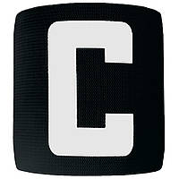 Капитанская повязка на липучке SWIFT Capitans Band, черная, Junior, фото 1