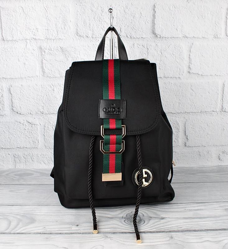 Рюкзак текстильный черный 9808