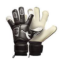 Перчатки вратарские BRAVE GK RESQUER BLACK/WHITE, фото 1