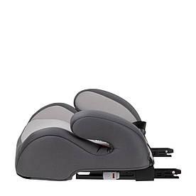 Дитяче автокрісло-бустер з ізофікс 6 до 12 років (від 25 до 36 кг) в кольорах ТМ Capsula JR4Х Grey 774120
