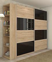 Модульная спальня Миа , шкаф купе Квадро 1800, фото 3