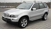 Защита переднего бампера BMW X5 E53 (2001-2009)