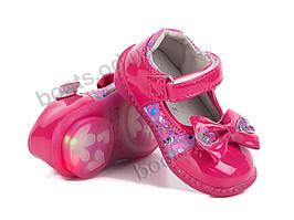 """Туфли  детские """"BBT"""" #F29-1. р-р 21-26. Цвет розовый. Оптом"""