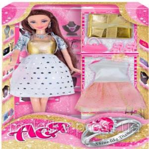 Купить Кукла Ася брюнетка «Сияй как бриллиант»