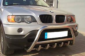 Кенгурятник BMW X-5 E53 (2001-2009)