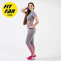 Женский спортивній костюм для фитнеса бега йоги Fit Fan Gradient