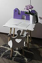 Дитячий стіл і стільчик Сет Princess (Місяць)