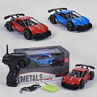 Машина Bullet металл на радиоуправлении 2 цвета, металлическая, аккумулятор 3.6V, управление 2.4 GHz