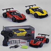 Машина Спорт на радиоуправлении 2 цвета, металлическая, аккумулятор 3.6V, управление 2.4 GHz