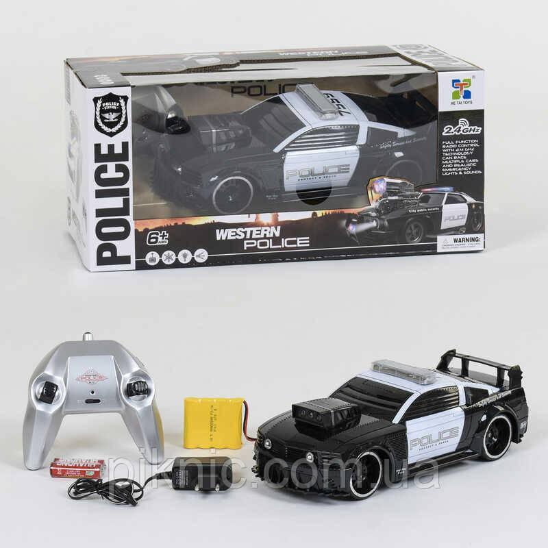 Машина Поліція на р/у-акумулятор 4.8 V, світлові і звукові ефекти