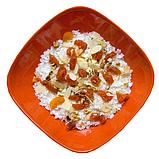 Каша рисова з курагою та горіхами, 100г, фото 2